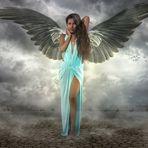 Luisa mit Flügeln