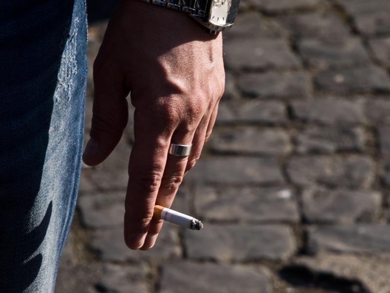 L'ultima sigaretta...