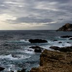Lumière d'hiver sur la Méditerranée