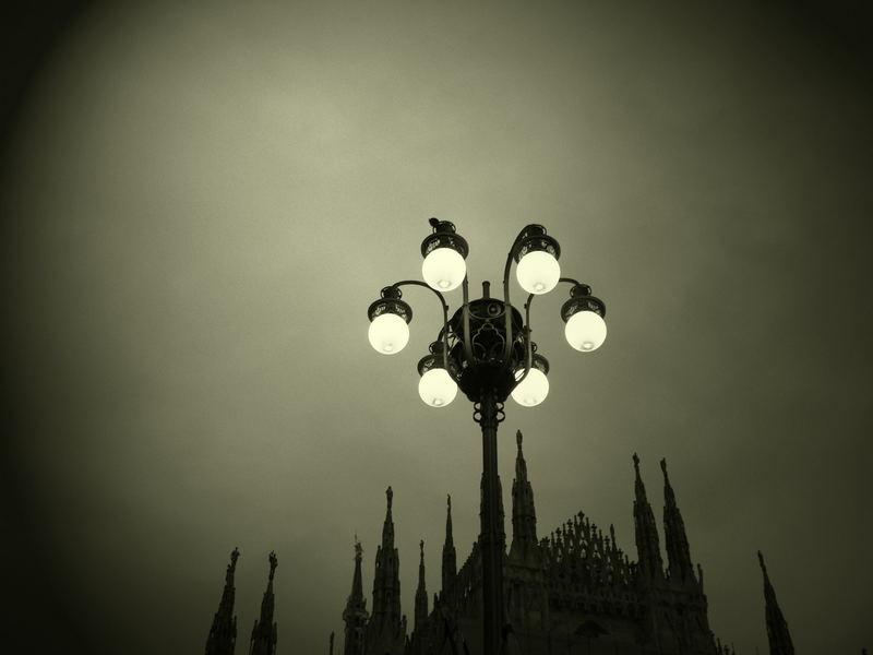 lumière sur le dome