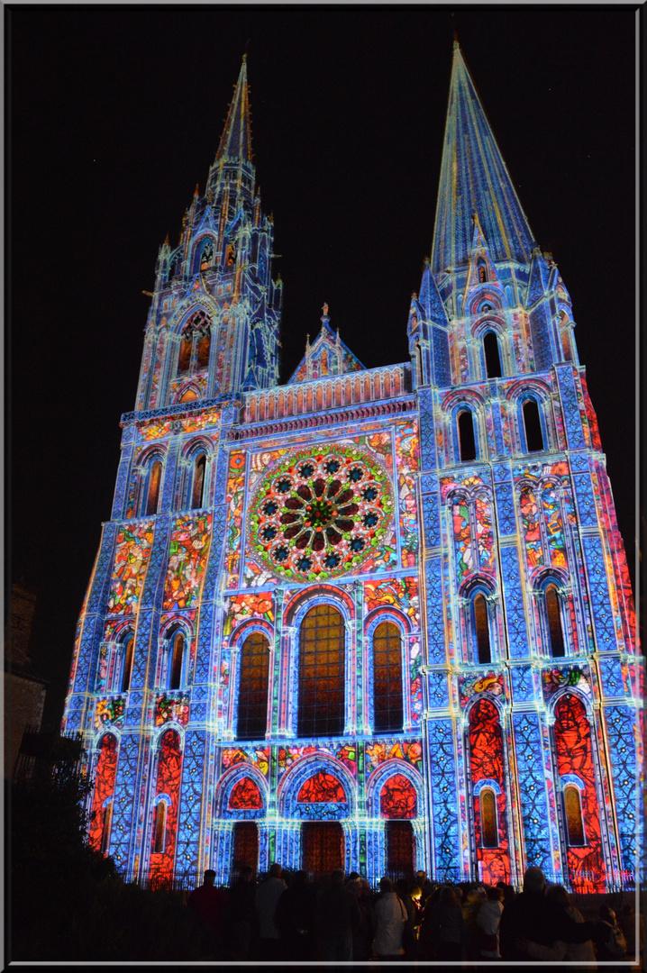 lumières sur la cathédrale