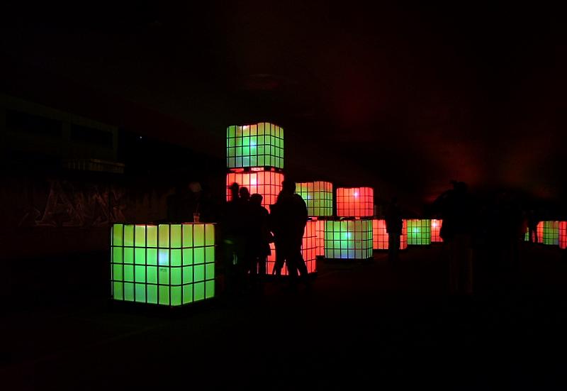 Luminale 2008 - qbridge 01