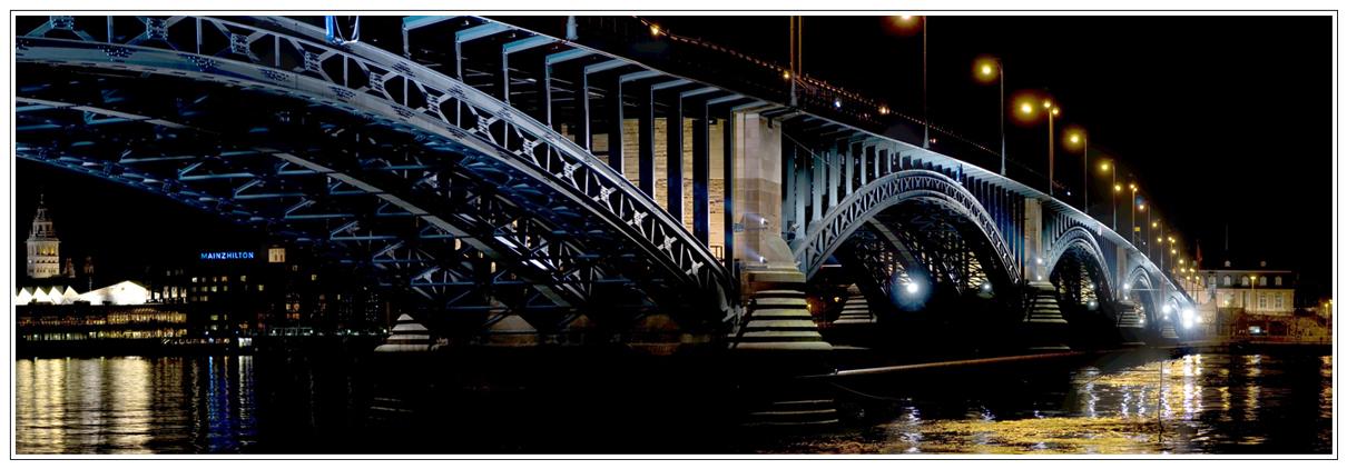 Luminale 2008 - Theodor-Heuss-Brücke