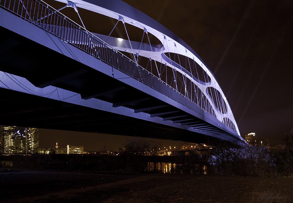 Luminale 2014 - Frankfurt - Osthafenbrücke