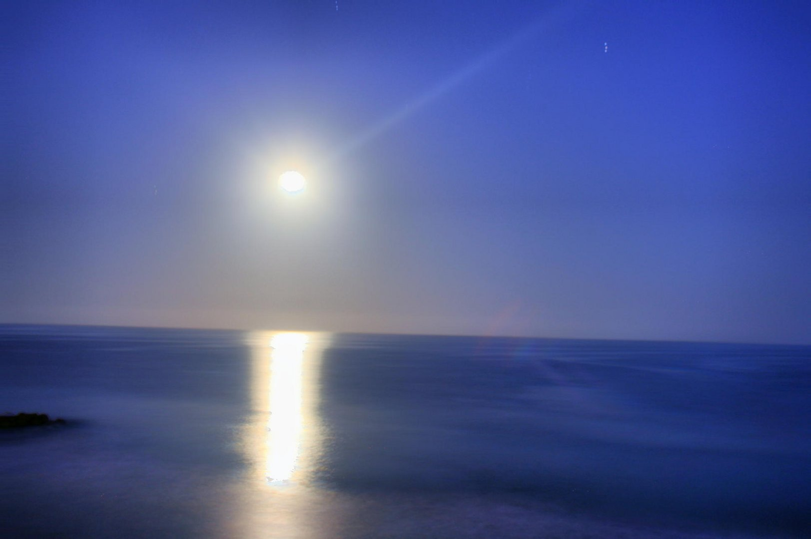 Luna - Cometa