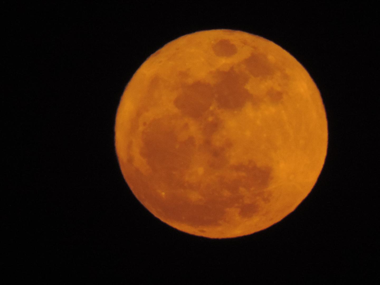 luna con filtro