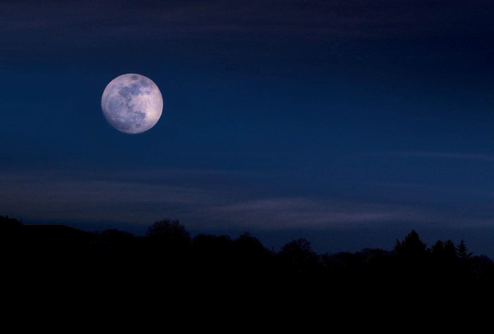 Luna crepuscolare