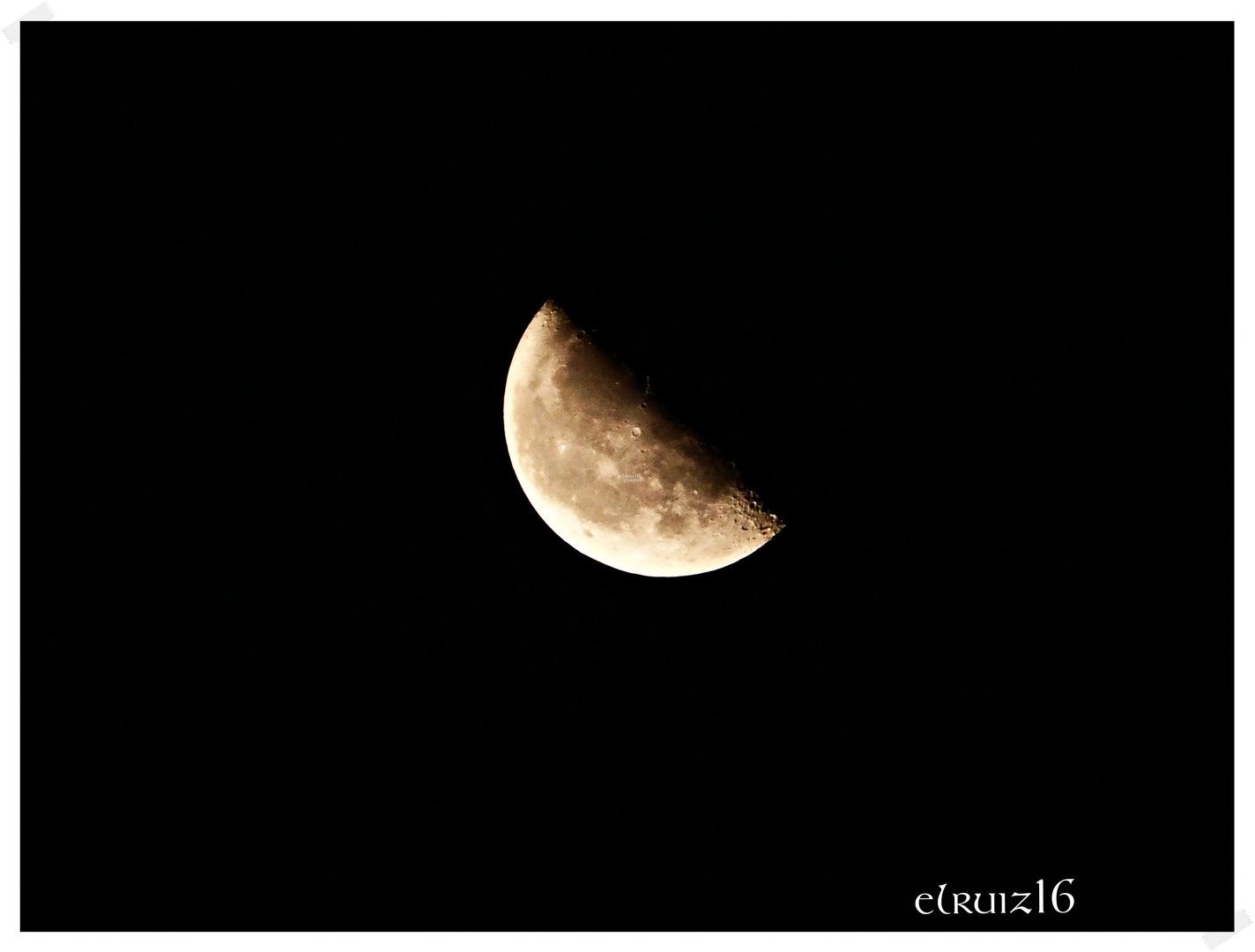 Luna decembrina.