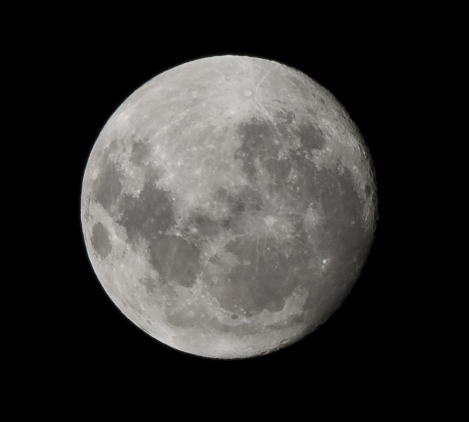 Luna llena en Buenos Aires