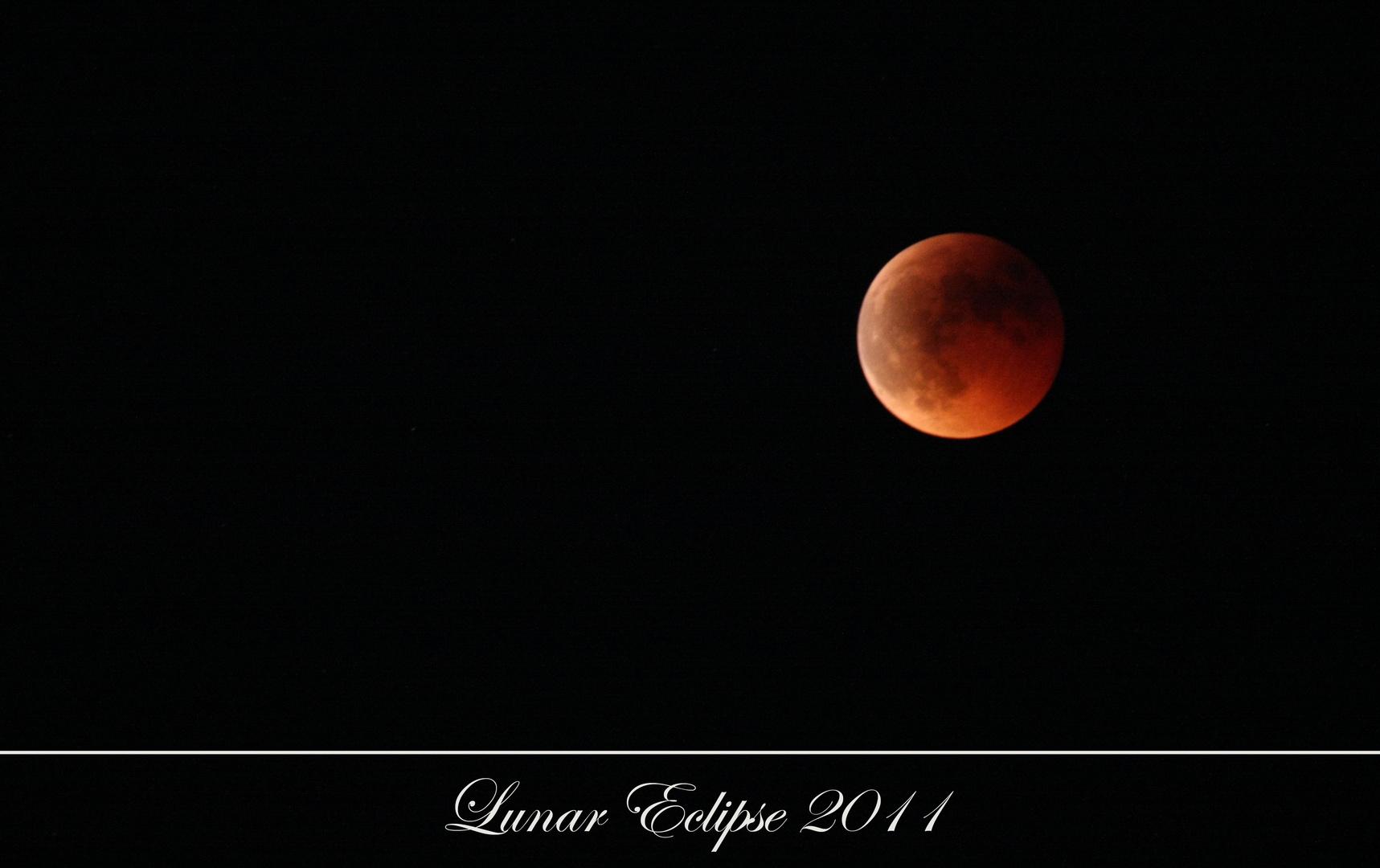Lunar Eclipse 2011