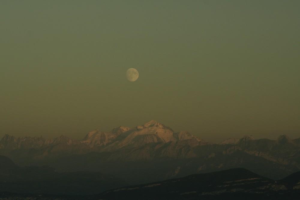 Lune mont-blanc