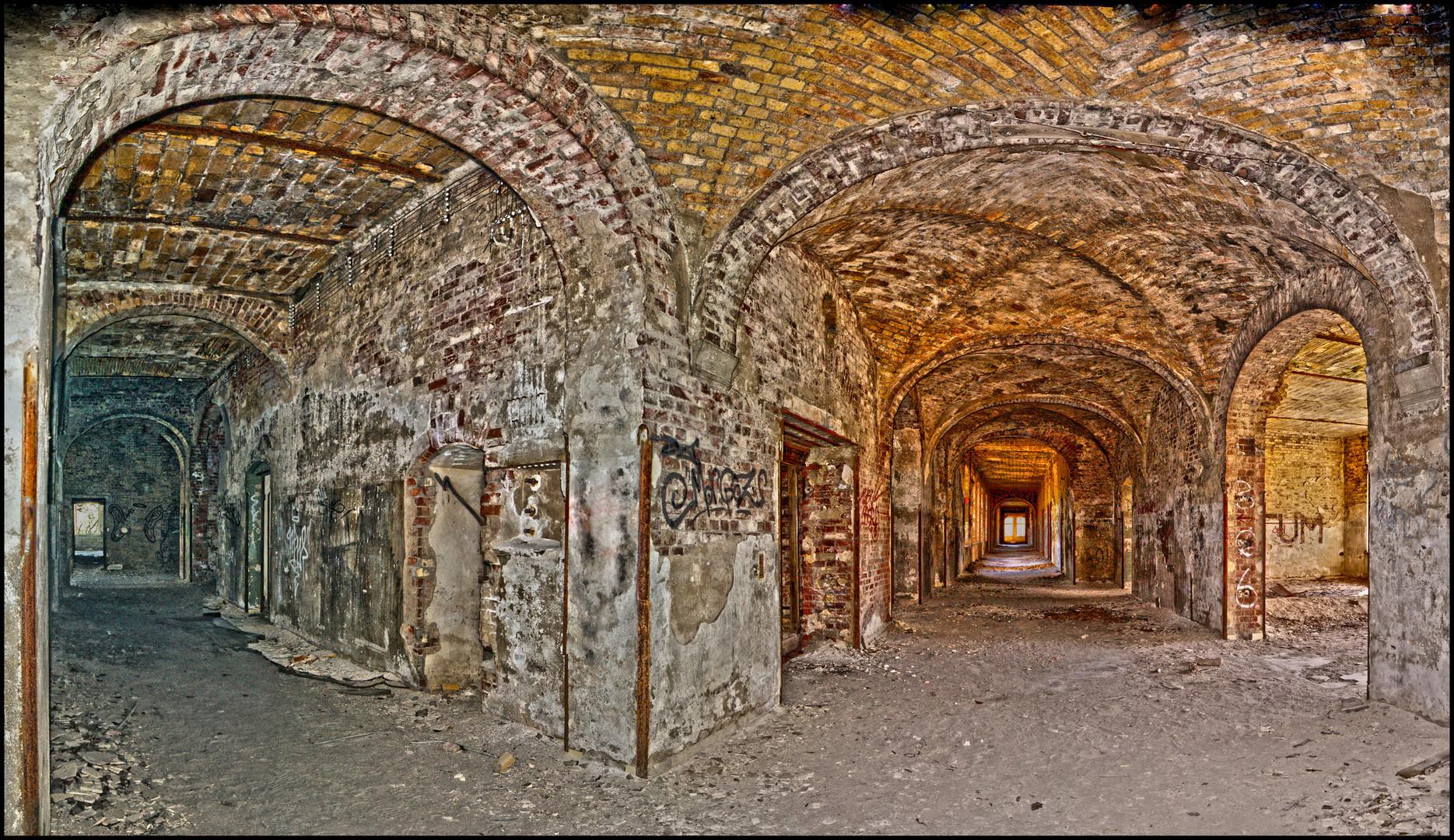 Lungenheilstätten Beelitz Ruine