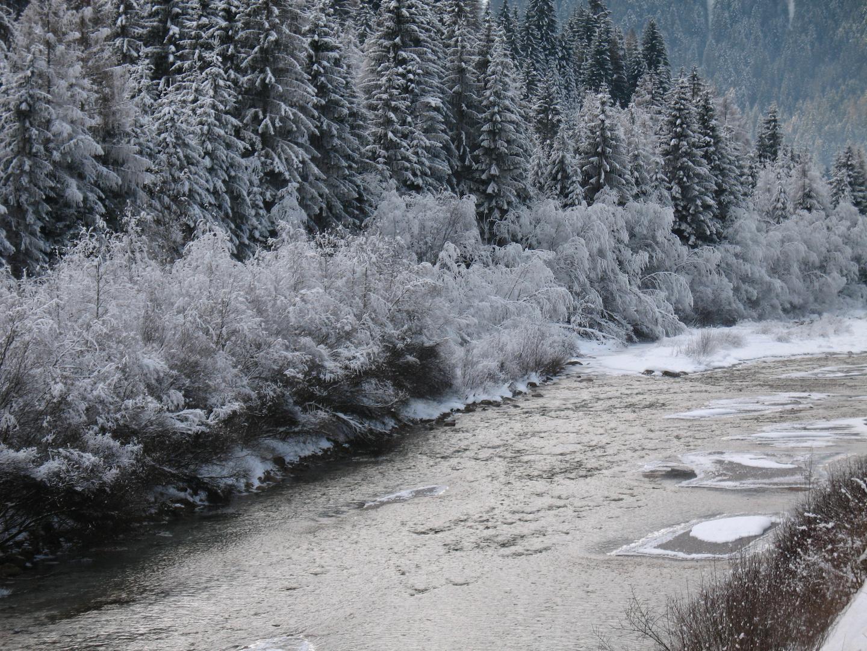 lungo il piave d'inverno..