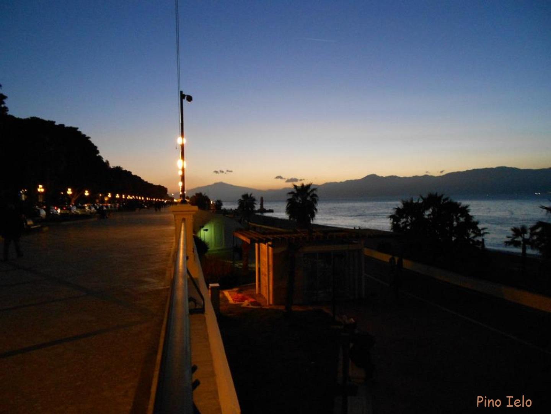 Lungomare di Reggio Calabria - Tramonto