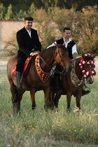 l'uomo e il cavallo..................