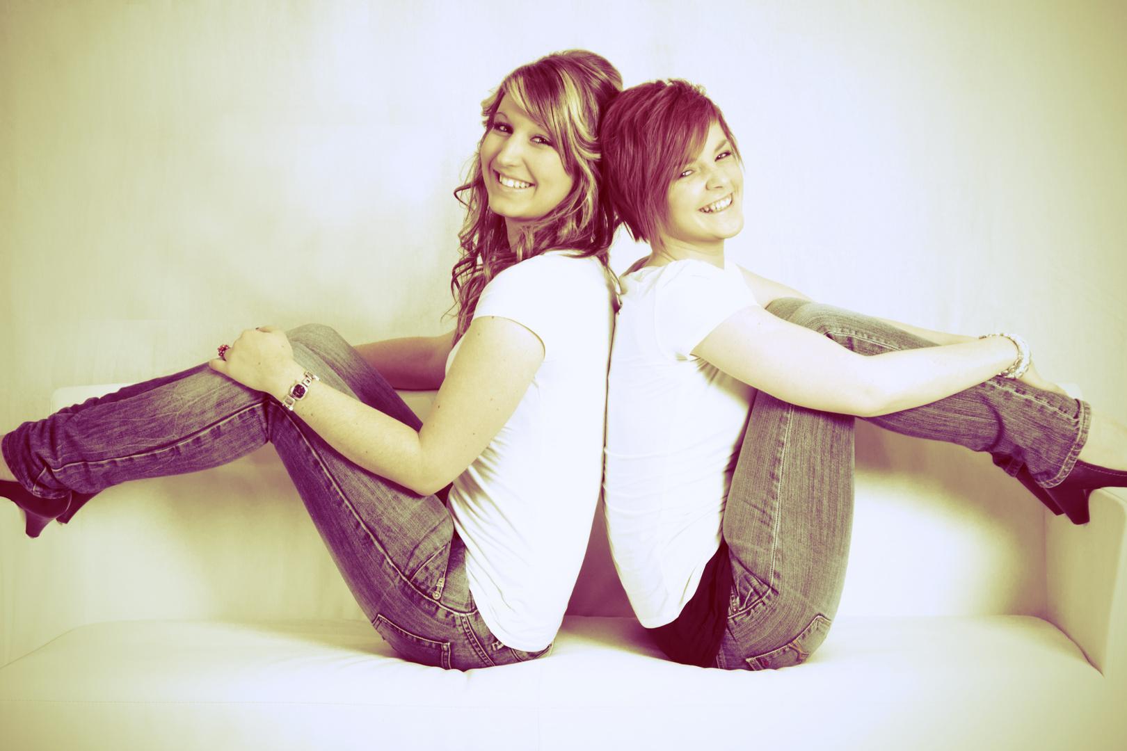 lustige Mädels Foto & Bild | erwachsene, zwei menschen