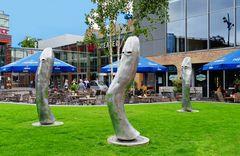Lustige Skulpturen ...