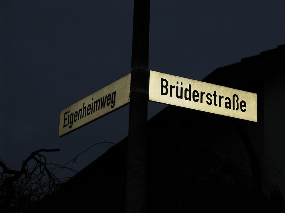 Lustige Straßennamen