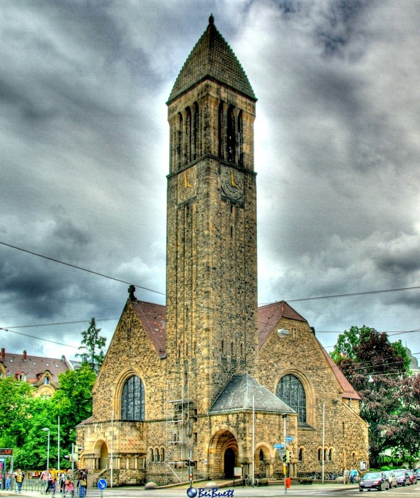 Luther Kirche Karlsruhe