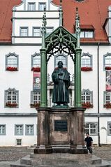 Lutherdenkmal in Lutherstadt Wittenberg