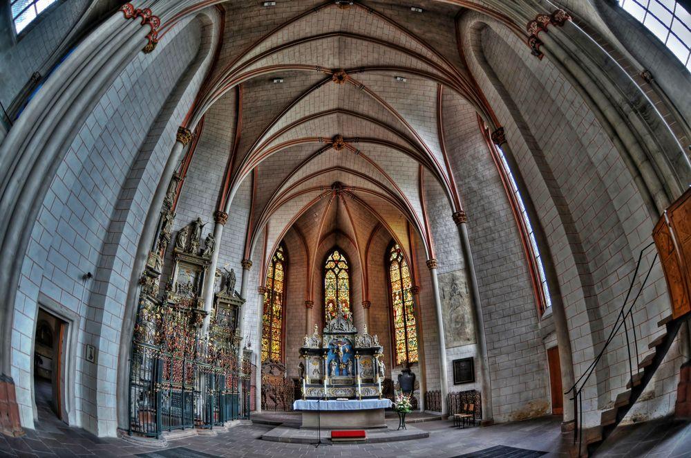 Lutherische Pfarrkiche - Marburg