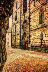 Lutherstadt Wittenberg Eingang der Stadtkirche
