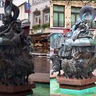 Luxembourg Brunnen