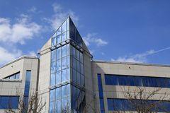 Luxemburg City - Gebäude auf dem Kirchberg