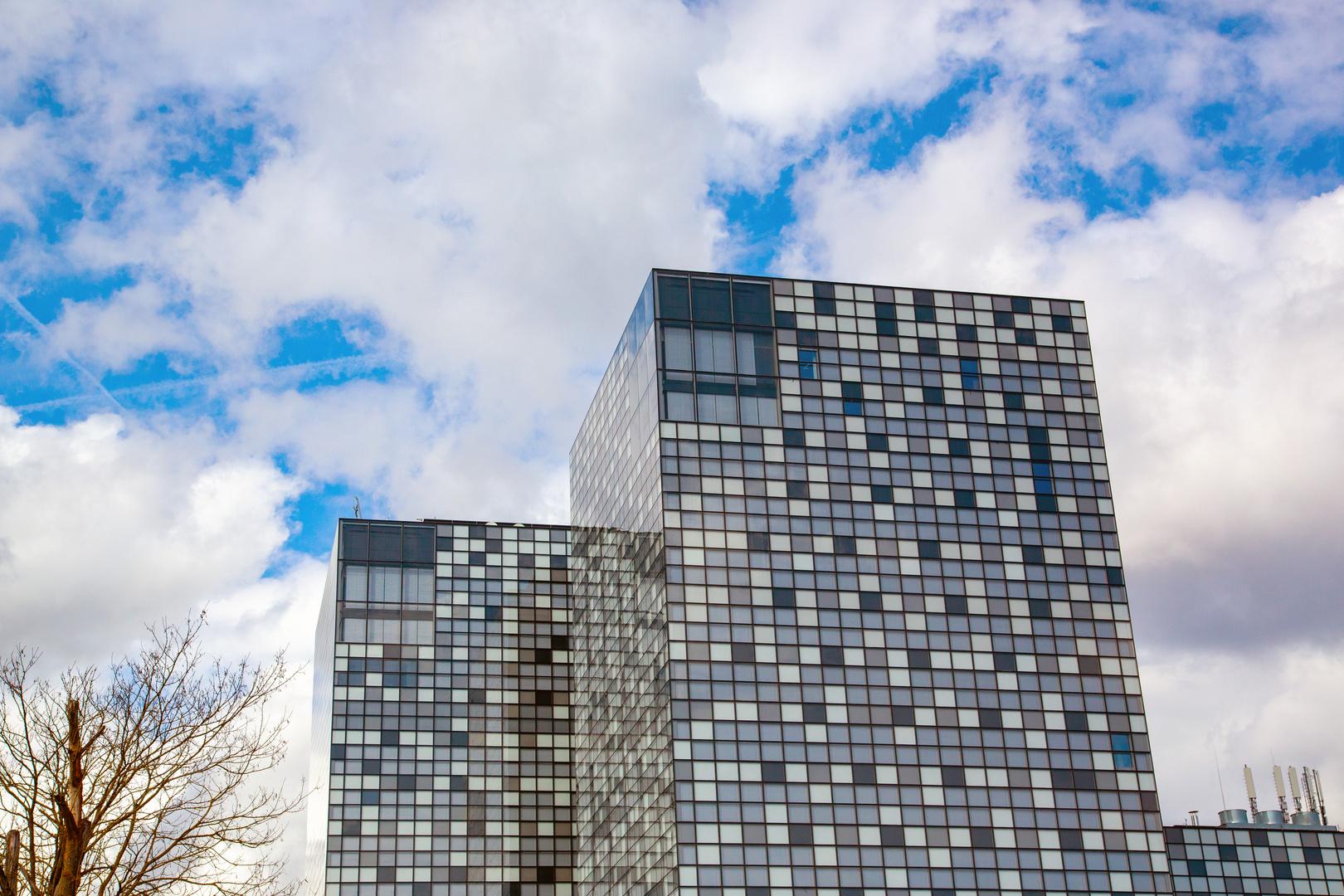 Luxemburg City - Gebäude auf dem Kirchberg II