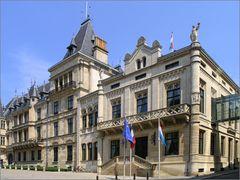 Luxemburg - Großherzogliches Palais u. Abgeordnetenkammer