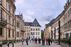 Luxemburg - In der Grand-Rue