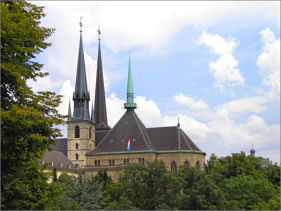 Luxemburg - Kathedrale Notre Dame
