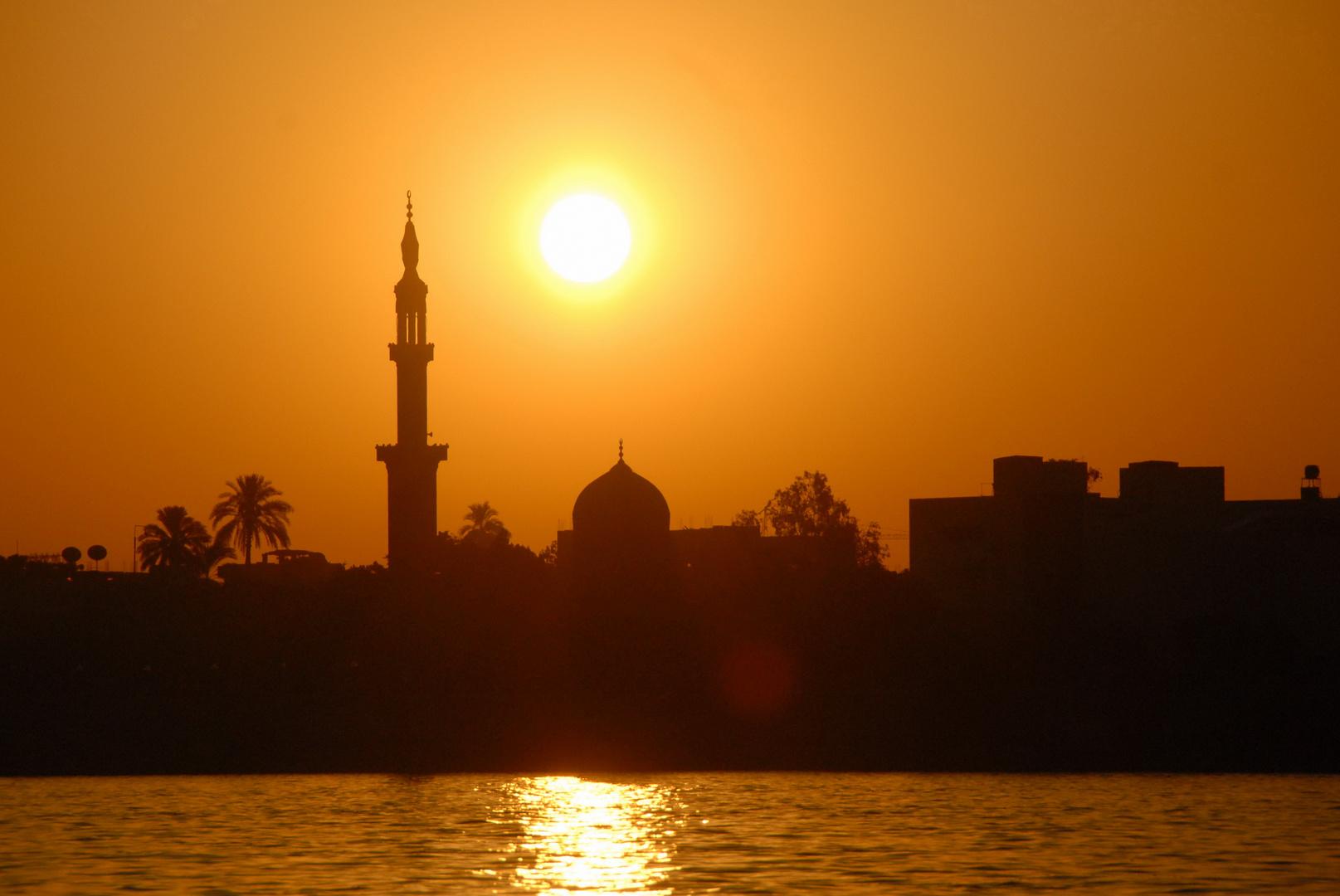 Luxor, morgens kurz nach 6