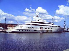 """Luxusyacht """"Pelorus"""""""