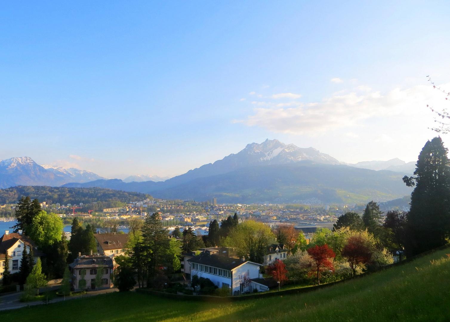 Luzern & der Pilatus ...