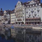 Luzern: Flusspromenade