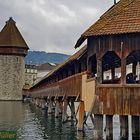 Luzern mit Wahrzeichen
