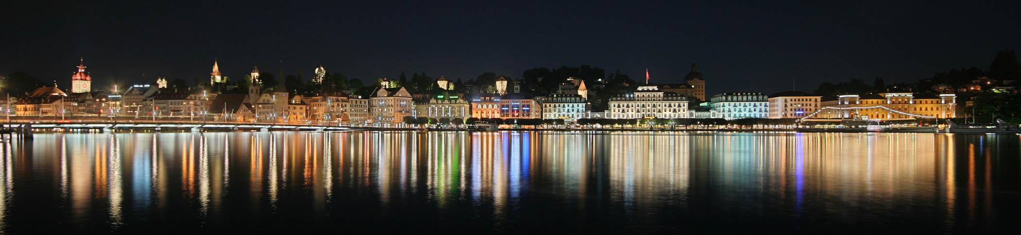 Luzern überm See