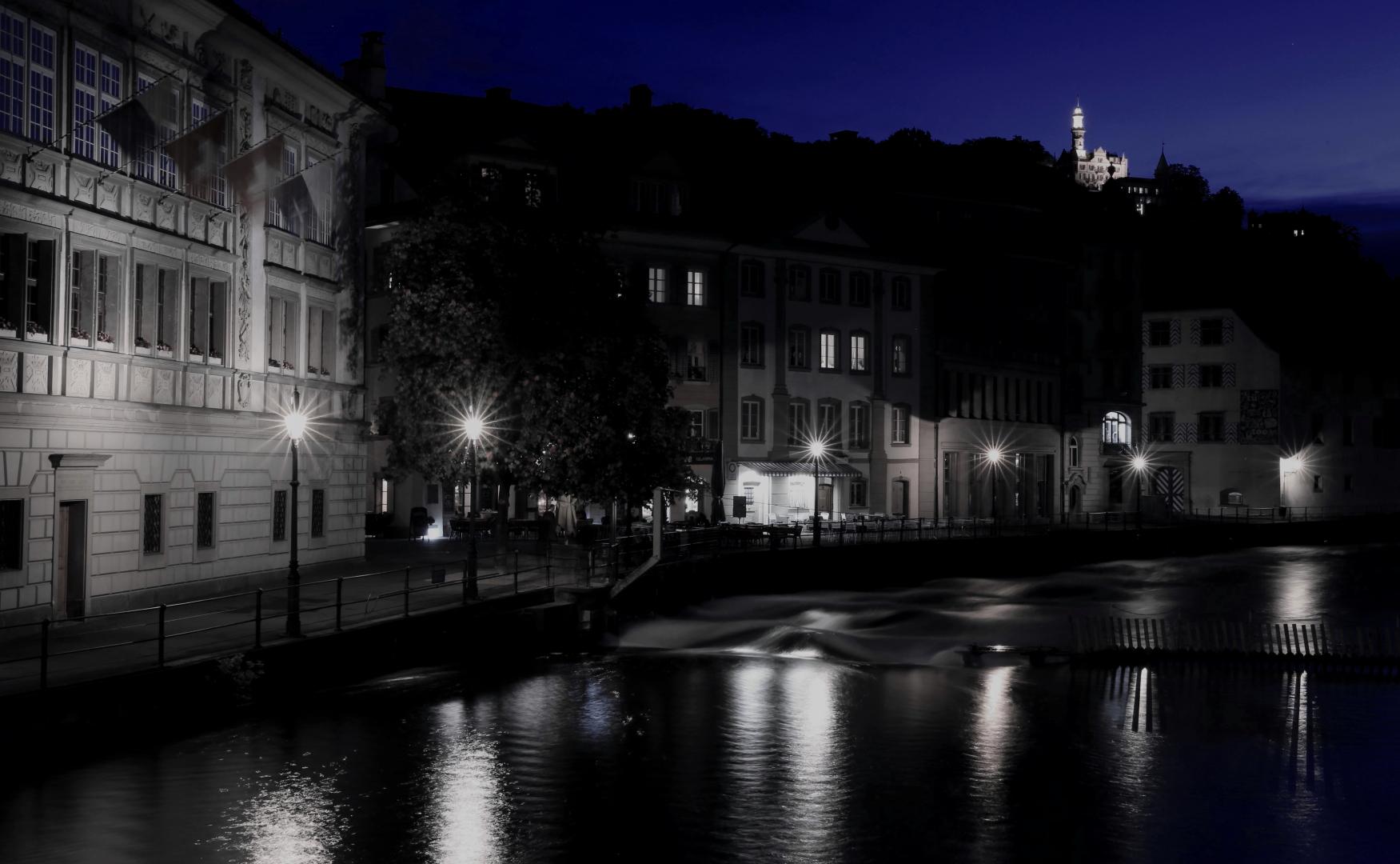 Luzern zur blauen Stunde