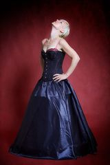 Lydia – Black Dress (neck)