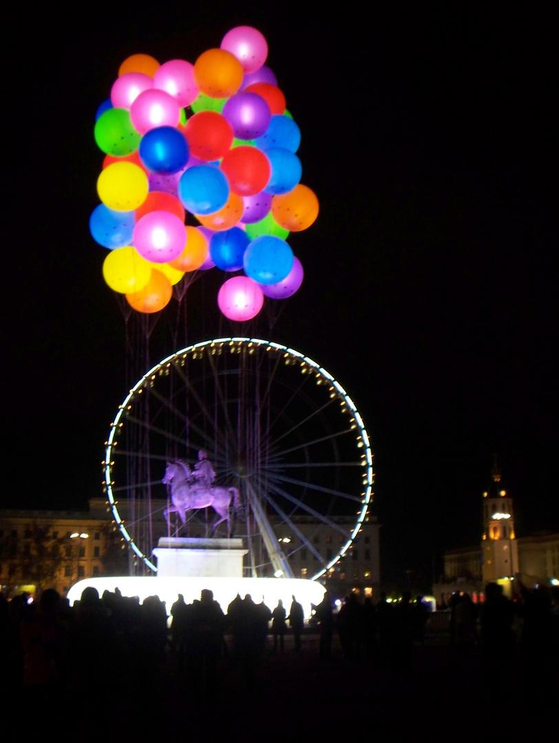 Lyon et ses lumières