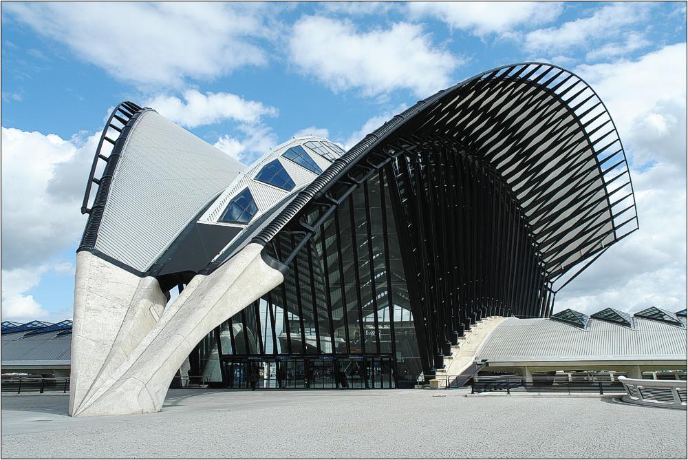 Lyon-Satolas TGV-Station 1