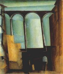 Lyonel Feininger Aquädukt