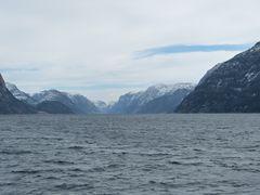Lysefjord in Norwegen im März 2013