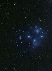 M 45 Plejaden /auch Siebengestirn) im Sternbild Stier