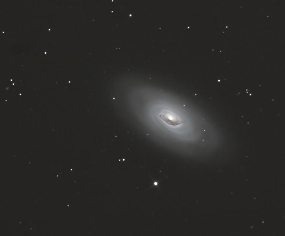 M 64... oder die Black -Eye Galaxie