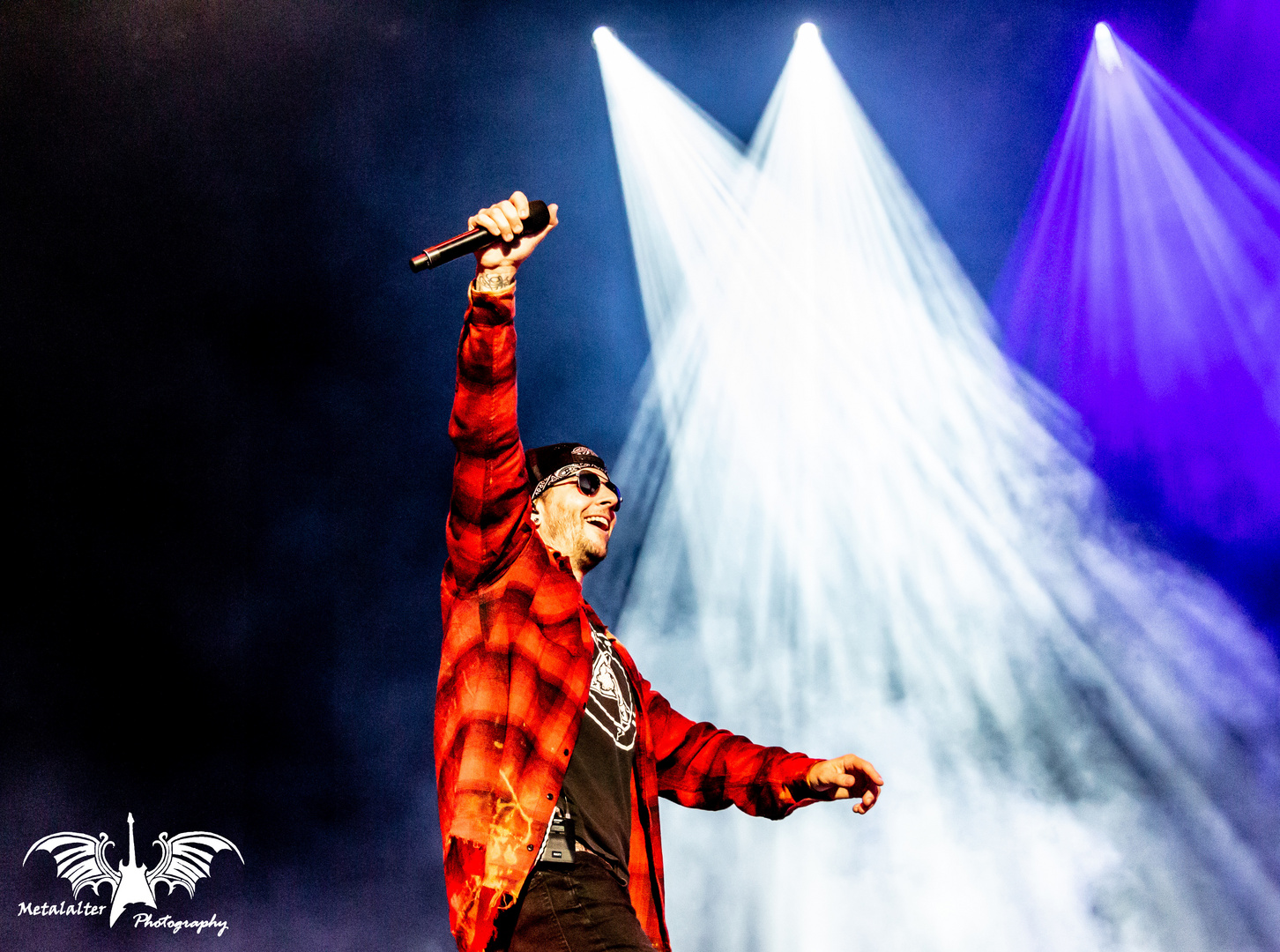 M Shadows at Rockfest 2018