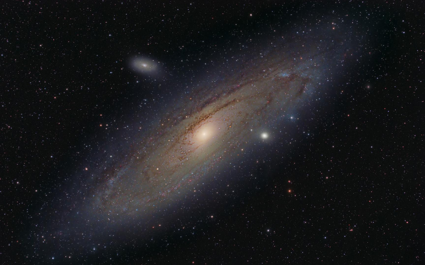 M31 - Adromedagalaxie