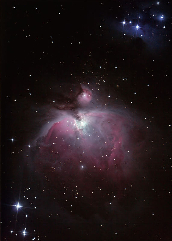 M42 - Geburtstätte von Sternen - Entfernung 1500 Lichtjahre