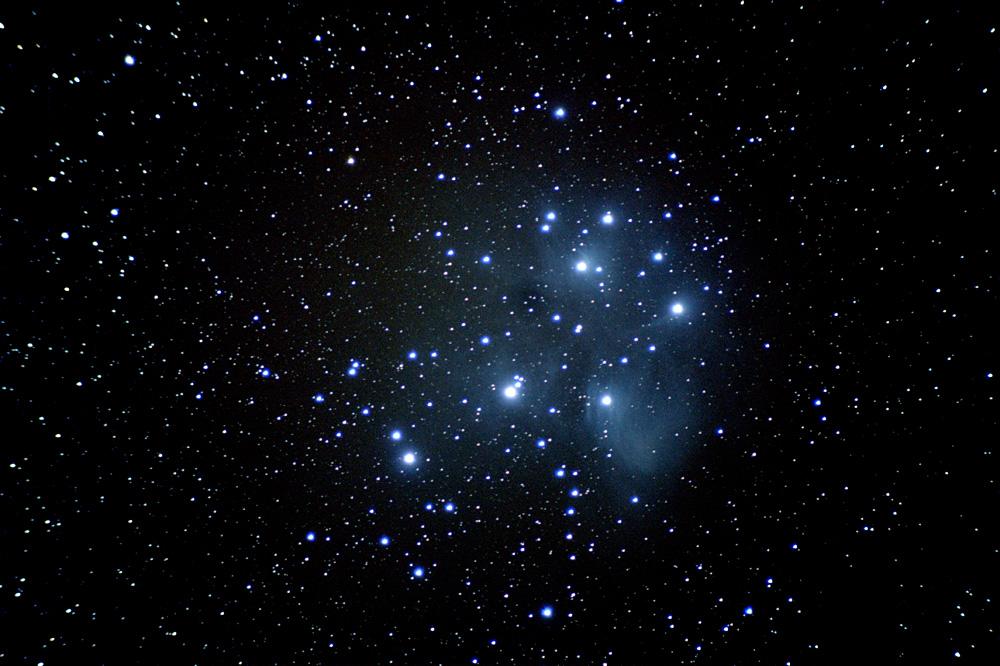 M45 - Plejaden vom 05.01.2011